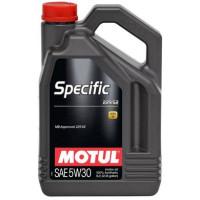 Моторное масло MOTUL SPECIFIC 229.52 5W-30 5 литров.