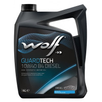 Моторное масло Wolf GUARDTECH 10W-40 B4 DIESEL 4 литра.