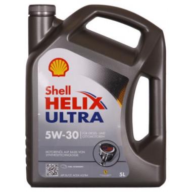 Моторное масло Shell Helix Ultra 5W-30 5 литров.