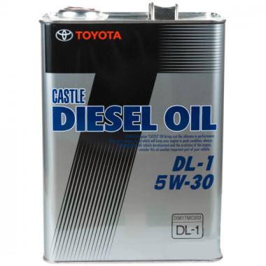 Моторное масло Toyota Diesel Oil DL1 5W-30 4 литра.
