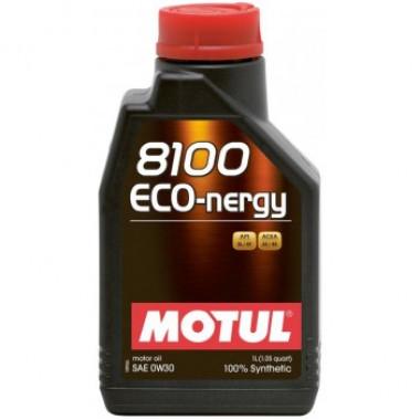 Моторное масло MOTUL 8100 Eco-nergy 0W-30 1 литр.