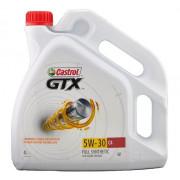 Моторное масло Castrol GTX 5W-30 C4 4 литра.