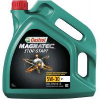 Моторное масло Castrol Magnatec STOP-START 5W-30 A5 4 литра.