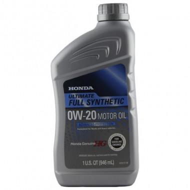 Моторное масло Honda Full Synt 0W-20 0,946 литра.