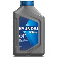 Моторное масло Hyundai Xteer Diesel D700 CI-4/SL 10W-30 1 литр.