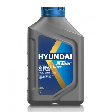 Моторное масло Hyundai Xteer DPF DISEL Ultra C3 SN/C3 5W-30 1 литр.