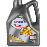 Моторное масло Mobil Super 3000 X1 5W-40 4 литра.