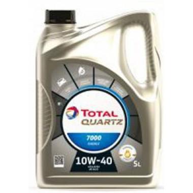Моторное масло Total Quartz 7000 Energy 10W-40 5 литров.