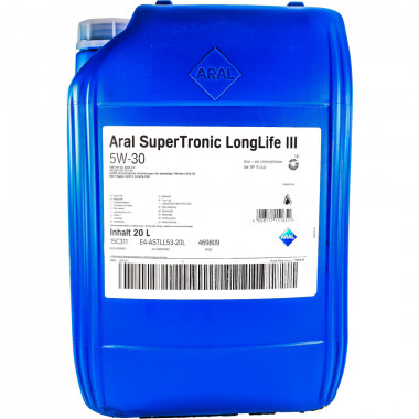 Моторное масло Aral SuperTronic LongLife III 5W-30 20 литров.