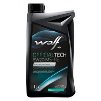Моторное масло Wolf OFFICIALTECH 5W-20 MS-FE 1 литр.