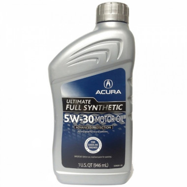 Моторное масло Acura Ultimate Motor Oil 5W-30 0,946 литра.