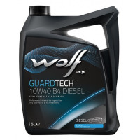 Моторное масло Wolf GUARDTECH 10W-40 B4 DIESEL 5 литров.