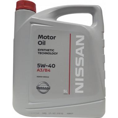 Моторное масло Nissan 10W-40 5 литров.