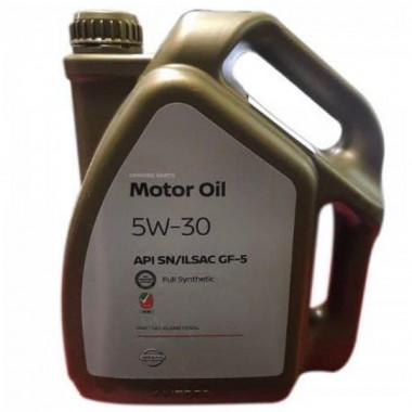Моторное масло Nissan Motor Oil 5W-30 4 литра.