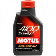 Моторное масло MOTUL 4100 TURBOLIGHT 10W-40 1 литр.