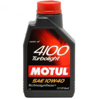 Моторное масло MOTUL 4100 TURBOLIGHT 10W-40 1 литр.