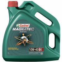 Моторное масло Castrol Magnatec Diesel 10W-40 B4 4 литра.