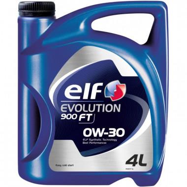 Моторное масло Elf Evolution 900 FT 0W-30 4 литра.
