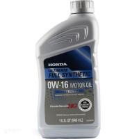 Моторное масло Honda Full Synt 0W-16 0,946 литра.