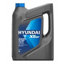 Моторное масло Hyundai Xteer Diesel D700 CI-4/SL 10W-30 6 литров.