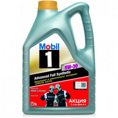 Моторное масло Mobil 1 FS 5W-30 5 литров.