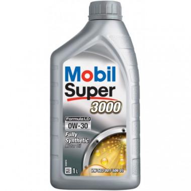 Моторное масло Mobil Super 3000 Formula LD 0W-30 1 литр.