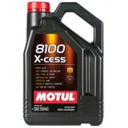Моторное масло MOTUL 8100 X-cess 5W-40 4 литра.