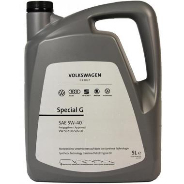 Моторное масло VW Audi Skoda Special G 5W-40 5 литров.