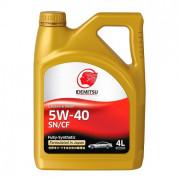 Моторное масло Idemitsu SN/CF 5W-40 4 литра.