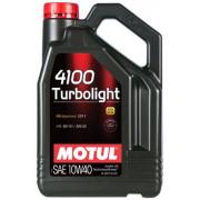 Моторное масло MOTUL 4100 TURBOLIGHT 10W-40 4 литра.