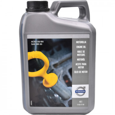 Моторное масло Volvo Engine Oil A5/B5 0W-30 4 литра.