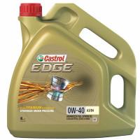 Моторное масло Castrol EDGE TITANIUM 0W-40 A3/B4 4 литра.
