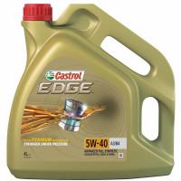 Моторное масло Castrol EDGE TITANIUM 5W-40 4 литра.