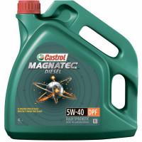 Моторное масло Castrol Magnatec Diesel 5W-40 DPF 4 литра.