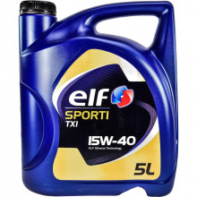 Моторное масло Elf Sporti TXI 15W-40 5 литров.