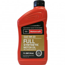 Моторное масло Ford Motorcraft Full Synthetic 5W-20 0,946 литра.
