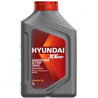 Моторное масло Hyundai Xteer G700 SN 5W-40 1 литр.
