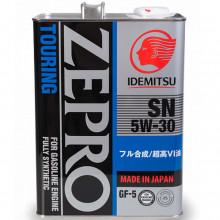 Моторное масло Idemitsu ZEPRO 5W-30 SN/GF-5 4 литра.