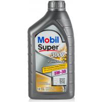 Моторное масло Mobil Super 3000 X1 F-FE 5W-30 1 литр.