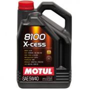 Моторное масло MOTUL 8100 X-cess 5W-40 5 литров.