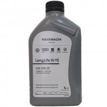 Моторное масло VW Audi Skoda Longlife IV 0W-20 1 литр.