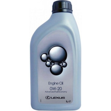 Моторное масло 0888083887 Lexus Engine Oil 0W-20 1 литр.