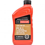 Моторное масло Ford Motorcraft Full Synthetic 0W-20 0,946 литра.