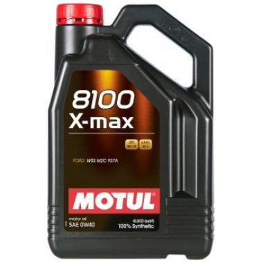 Моторное масло MOTUL 8100 X-max 0W-40 4 литра.