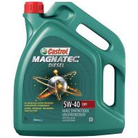 Моторное масло Castrol Magnatec Diesel 5W-40 DPF 5 литров.
