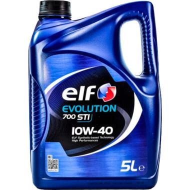 Моторное масло Elf Evolution 700 STI 10W-40 5 литров.