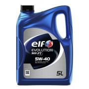 Моторное масло Elf Evolution 900 FT 5W-40 5 литров.