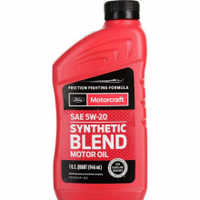 Моторное масло Ford Motorcraft Synthetic Blend 5W-20 0,946 литра.