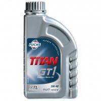 Моторное масло Fuchs Titan GT 1 5W-40 1 литр.