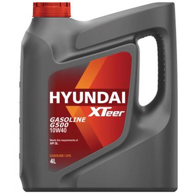 Моторное масло Hyundai Xteer G500 SL 10W-40 4 литра.